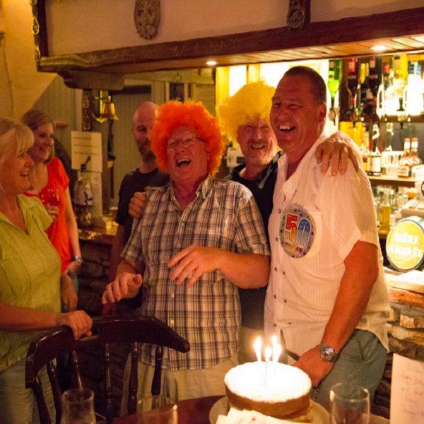 Bar 50 birthday wiggy celebrations
