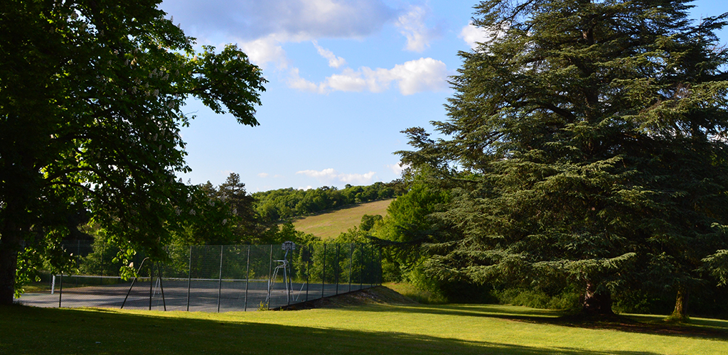 Dordogne Lot Tennis Court