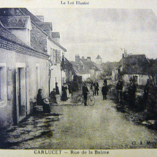 Rue de la Balme Carlucet